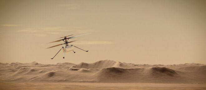 NASA set to create history on Mars with its Ingenuity helicopter