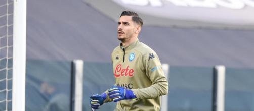 Alex Meret, portiere del Napoli.