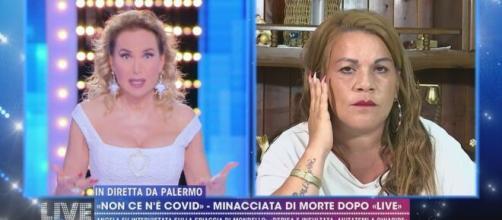 Angela da Mondello attacca Barbara d'Urso
