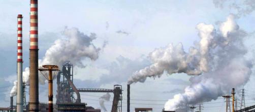 Ex Ilva, lo stabilimento siderurgico di Taranto.