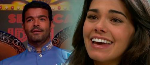 Fernanda aceita se casar com Cruz (Fotomontagem/Reprodução/Televisa)