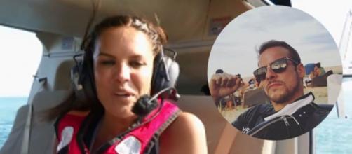 Marta López dedica su salto en 'Supervivientes 2021' a Alex Casademunt (Collage Captura Pantalla Telecinco y @alex81casademunt)