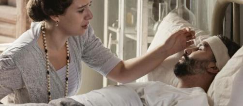 Una Vita, spoiler al 17 aprile: Felipe è grave, Genoveva è incinta.