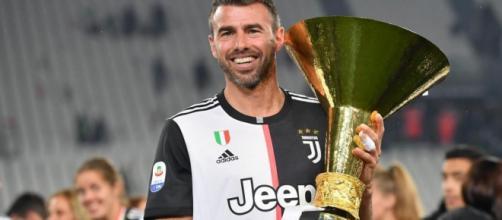Andrea Barzagli, ex difensore della Juventus.