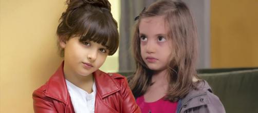 Un posto al sole, Bianca (Sofia Piccirillo) e Irene (Greta Putaturo).