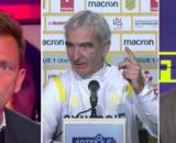 Raymond Domenech se fait détruire par Daniel Riolo et RMC - Photo capture d'écran vidéo YouTube