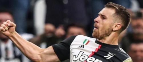 Aaron Ramsey potrebbe lasciare la Juventus.