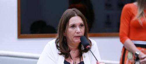 Após defender tratamento precoce, Bia Kicis fala em testagem em massa (Michel Jesus/Câmara dos Deputados)