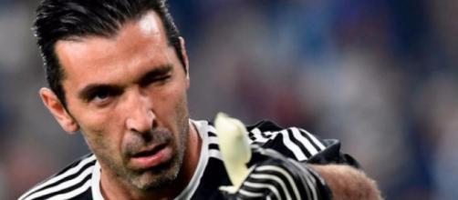 Gianluigi Buffon, portiere della Juventus.