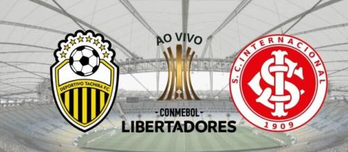 Inter x Táchira: transmissão ao vivo nesta terça-feira (11), às 19h15 (Fotomontagem)