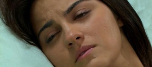 Maria fica debilitada após sequestro (Divulgação/Televisa)