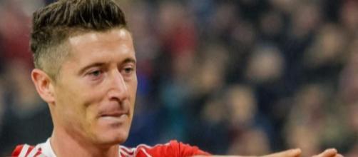 Robert Lewandowski, punta del Bayern Monaco.