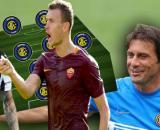 Inter, obiettivi Dzeko e De Paul.