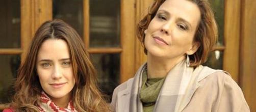 Ana e Eva em 'A Vida da Gente' (Reprodução/TV Globo)