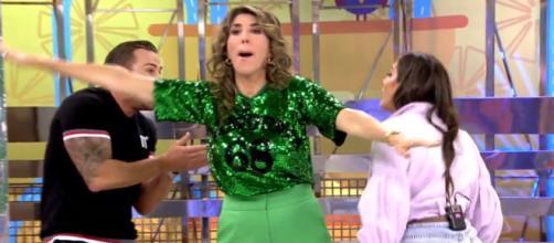 Anabel Pantoja saltó después de que Rafa Mora hablara de su padre - (Telecinco)