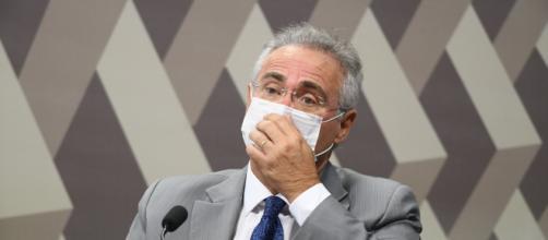 Brasil virou cemitério e isso não ficará impune, diz Renan Calheiros (Jefferson Rudy/Agência Senado)