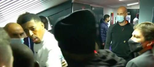 Canal+ dévoile la vidéo dans les couloirs de Rennes / PSG - photo capture d'écran vidéo