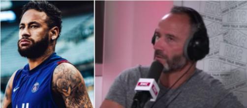Di Meco dézingue Neymar en direct à la radio - Photo capture d'écran vidéo Youtube et Instagram