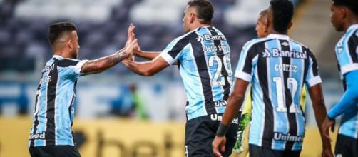 Grêmio busca nomes no mercado para reforçar elenco (Lucas Uebel/Grêmio)