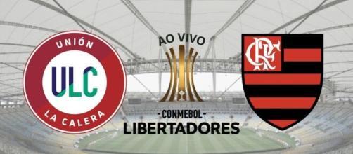 La Calera x Flamengo: transmissão ao vivo nesta terça-feira (11), às 21h30, na TV aberta (Fotomontagem)