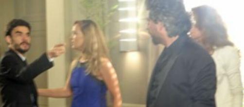 Pedro e Zé em 'império'. (Reprodução/TV Globo)