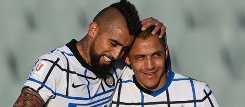 Sanchez e Arturo Vidal pronti a lasciare l'Inter.