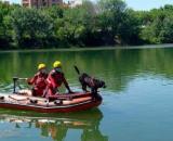 Encuentran el cuerpo sin vida del menor en el Ebro (Bomberos Zaragoza)