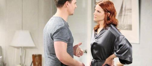 Beautiful, spoiler al 22 maggio: Wyatt chiede a Sally di tornare insieme, ma lei rifiuta