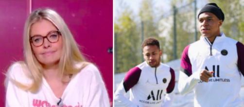 Carine Galli dézingue l'attitude de Neymar et Mbappé - Photo capture d'écran vidéo Twitter et Instagram Mbappé