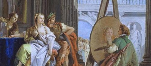 Giovanni Tiepolo painting in 'Studio of Apelles' (Image source: petrus.agricola/Flickr)