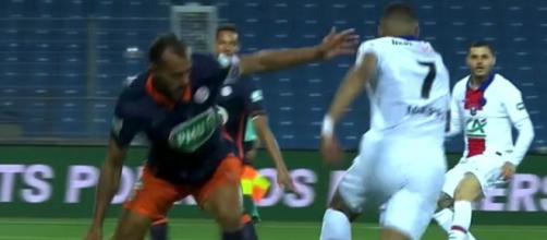 Kylian Mbappé a marqué un but exceptionnel - Photo capture d'écran vidéo Eurosport