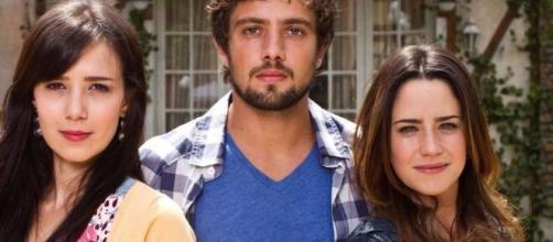 Manu, Rodrigo e Ana em 'A Vida da Gente'. (Foto: Globo)