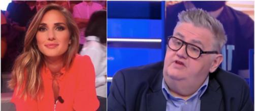 Marie Portolano a pris a défense de Pierre Ménès. (Crédit Instagram Marie Portolano et YouTube Pierre Ménès)