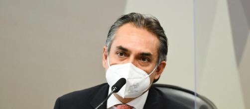 Carlos Murillo afirma que governo Bolsonaro rejeito ofertas de vacina (Jefferson Rudy/Agência Senado)
