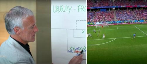 Le coup tactique magistral de Didier Deschamps en coupe du monde - Photo montage et captures d'écran
