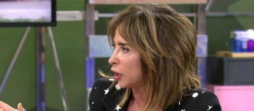 María Patiño en una de sus últimas intervenciones televisivas. (@telecincoes)