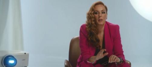 Rocío Carrasco cuenta en la 'docuserie' que estuvo a punto de agredir a Olga Moreno (Captura de pantalla @telencincoes)