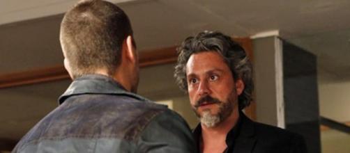 Zé e Lucas em 'Império'. (Reprodução/Rede Globo)