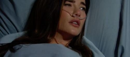 Beautiful, anticipazioni: Steffy finisce in ospedale dopo essere stata investita da Bill.