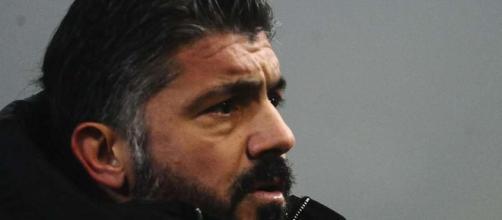 Gennaro Gattuso, tecnico del Napoli.
