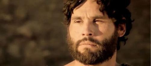 Jesus em 'Gênesis' (Reprodução/Record TV)