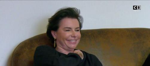Laurence Saillet piégée par Cyril Hanouna - Capture d'écran C8