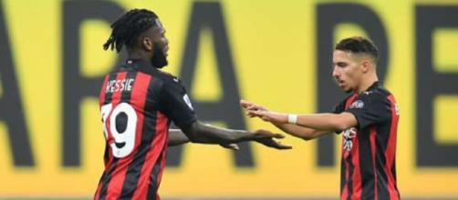 Milan-Cagliari, probabili formazioni: linea mediana rossonera affidata e Kessiè e Bennacer.