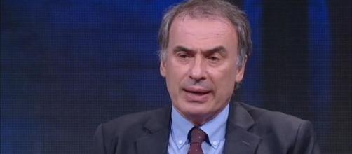 Ranieri Guerra in un intervento durante la trasmissione DiMartedì (la7/screenshot)
