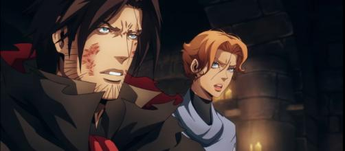 Trevor, Sypha, and Alucard's story ends in this action-packed season (Image source: YouTube/Netflix)