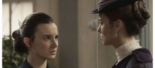 Una vita trame Spagna: Felicia sconvolta dopo aver appreso della storia tra Camino e Maite.