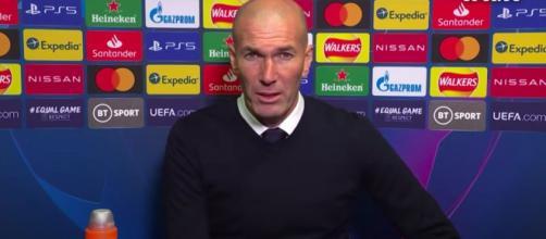 Zinedine Zidane va quitter le Real Madrid en fin de saison - Photo capture d'écran vidéo Youtube