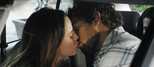 Eva verá os dois se beijando em 'A Vida da Gente' (Reprodução/Rede Globo)