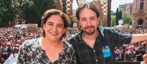 Ada Colau ha resaltado los episodios que debió experimentar Pablo Iglesias en la política (Instagram, @adacolau)