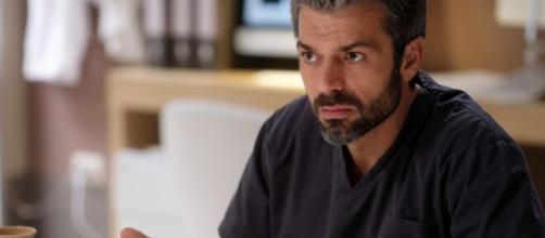 Doc - Nelle tue mani 2, Luca Argentero sul set.